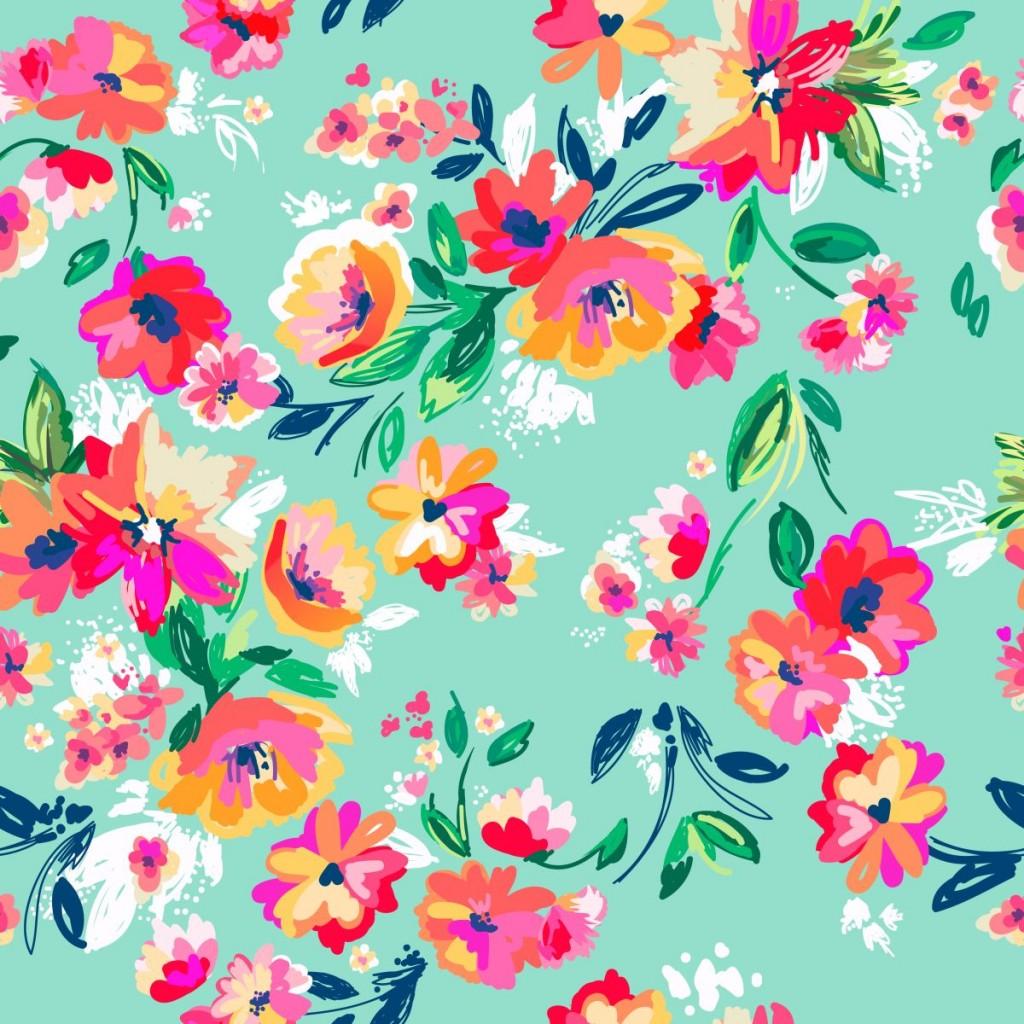 motyw kwiatowy