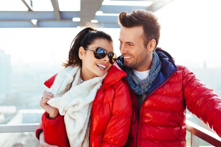 modna kurtka pikowana